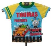 09 THOMAS 藍色黃袖TEE (TH35)特價$69(SIZE140 ONLY)