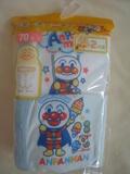 (行貨)最新麵包超人前扣連身衣兩件組(藍色)(APG114)特價$138(無折)(SIZE70, 80 ONLY)