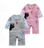 可愛pingu棉絨連身衣(PB01)特價$88(pink only)