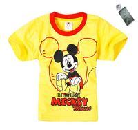 (NEW)2010 MICKY MOUSE 黃色親子裝(MMS01)特價$148(1 SET)