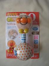 2010 BANDAI 麵包超人 噹噹手搖鈴 BB玩具  (APG669)超值價$95(無折) V.I.P 95折