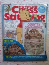 外國十字繡雜誌 - The World of Cross Stitching 第135期 (連贈品)