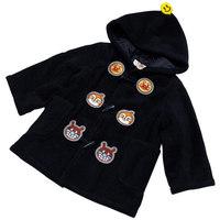 2012BANDAI原單正品麵包超人黑色 漁夫絨外套(APJ07)特價$268(SIZE 90cm ONLY)