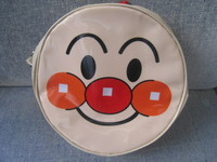 (NEW)2010大頭 麵包超人小孩漆皮背包(APG710)超值價$89(無折) (VIP 95折)
