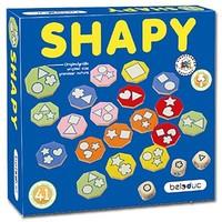德國beleduc 形狀找找看遊戲 - Shapy Game 訓練觀察力 & 形狀辨認能力 & 鍛煉專注力&快速反應能力  3y+ 4y+ 5y+ 6y+ 99y+ 4448