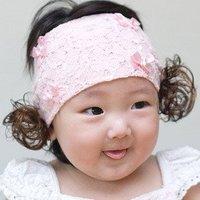 BB小童lace四小蝴蝶結髲帶(含假髮)