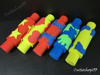 Cutieshop153Diy 勞作用具學校教學 美術學生小手工DIY材料用具~印刷活動類滾輪套 /個#14077