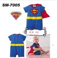 游泳用品 Superman bb 造型泳衣 短袖
