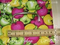 拼布布料 ~ 蘋果帆布 24 X 50 cm