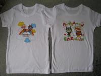 2011 西松屋 麵包超人超柔軟印花短袖 底衫(APS83)特價$36(SIZE  120 CM ONLY)