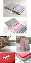 韓國caroline 蝴蝶結12位卡片包
