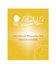 Aqua 金泊水晶美白面膜紙