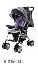 言B小店 - 2011新版COMBI嬰兒手推車輕便型SJ-8EX, 包送貨, 送頭枕 (紫)