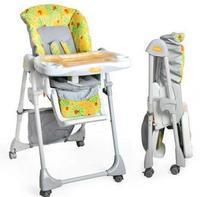 言B小店 - Combi Enjoue 2011新版FS-1安舒摺合式餐椅 可平訓 包速遞(昆蟲系列 - 瓢蟲橙)