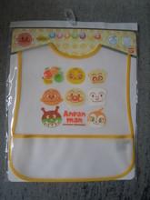 2012(原裝行貨)麵包超人黃色 膠口水肩/飯衣(APG786)特價$99(無折)