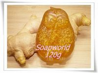 甘油蜂蜜薑手工皂 (100g+)