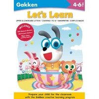 【售罄】#375 超正推介 ~~ Gakken Workbooks - Let's Learn 綜合練習 4-6y+