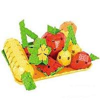 #477 3D立體DIY併裝積木(320塊) 水果 (培養耐性,專注力) 4y+5y+6y+7y+,益智玩具