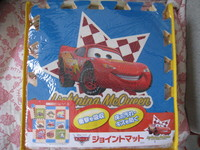 (原裝行貨)出口日本2011 DISNEY CARS拼圖遊戲墊/ 地墊(CG04))特價$308(無折) (V.I.P.97折)