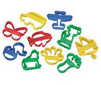 #058 泥膠模 ~ 10款不同大模具 1.5y+,益智玩具