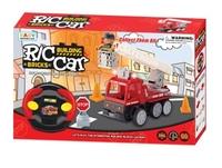R/C FIRE ENGINE- 益智遙控消防車lego套裝 3y+ 4y+ 5y+ 6y+  DIY 組裝/ 拼砌玩具 小肌肉訓練 創意開發