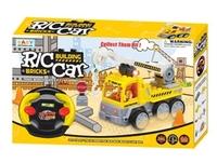R/C CAR - 益智遙控工程車lego套裝 3y+ 4y+ 5y+ 6y+DIY 組裝/ 拼砌玩具 小肌肉訓練 創意開發