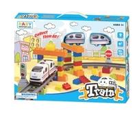 TRAIN set - 益智電動火車lego套裝 /DIY 組裝 拼砌玩具 小肌肉訓練 創意開發3y+ 4y+ 5y+ 6y+