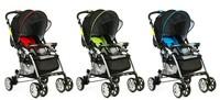 言B小店 - 2012升級版最新COMBI嬰兒手推車A型LT-3R(合初生可雙向),送腳套蚊帳包送貨(紅綠藍三色)