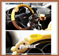 [訂貨區]㊣韓國 San-X Rilakkuma 鬆馳熊 汽車用品 呔盤套575
