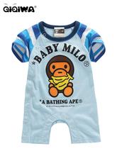 2012 猿人淺藍色連身衣(BPB01特價$108(size 75 ONLY)