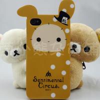 新款 Diecut Cover 可愛兔子 iphone4 4S 手機殼