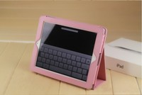 真皮質感帶休眠ipad1 iPad2 保護套 皮套支架 荔枝紋皮革