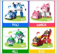 ㊣韓國 Robocar Poli 波力 救援小英雄 變身玩具車機械人2536
