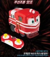 ㊣韓國Robot Train/Alf變形小火車無線遙控車23032018