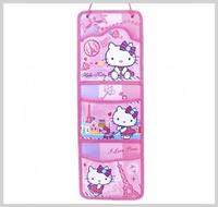 聖誕節禮物 ㊣Sanrio Hello Kitty 卡通精品 掛墻 信件收納 儲物袋 2906