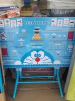 Doraemon 多啦A夢 叮噹 兒童枱 安全鎖摺書枱 餐桌_店取95折