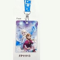 Disney Frozen 魔冰雪奇緣 Elsa Anna 兒童 八達通套 掛頸 學生証件套 咭套 11113