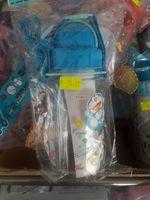 Doraemon 多啦A夢 叮噹 350ml Water Bottle 長帶吸管膠水樽