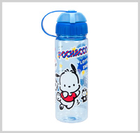 兒童 嬰兒 用品 ㊣ Sanrio Pochacco PC狗 兒童 水樽 BPA FREE 直飲式 水壺 450ml_2863