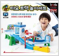 ㊣韓國 Tayo The Little Bus Mini 巴士 轉轉車場玩具1956setB原價699照價95折$664優惠只限店取
