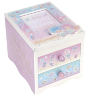 Sanrio Little Twin Stars Wooden Jewellery Box 小雙星木製相框首飾盒081217