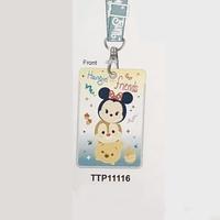 Disney Tsum Tsum Mickey Mouse 米奇兒童 八達通套 掛頸  學生証件套 咭套 11115