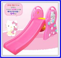 [訂貨區] ㊣韓國Sanrio Hello Kitty 凱蒂貓 兒童小滑梯玩具4863※店取-HK$10※