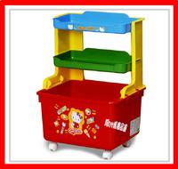 ㊣日本 Sanrio Hello Kitty 儲物架 儲物櫃 雜物架 玩具箱 (店取 -$10)