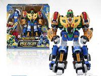 韓國 Biklonz炫風騎士 3合體/(火鳥/霸象/神鹿3合體)可與紅藍獅子2合體交义合體/化身5合體 玩具