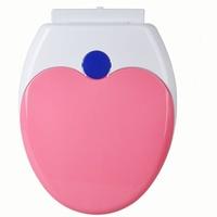 Toilet Seat 加厚子母油壓(缓降)廁所板 下裝式_O型_粉紅色_店取95折