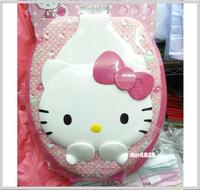 ㊣韓國 Sanrio Hello Kitty 3D立體蓋子母廁所板 成人廁板+兒童學習坐廁板二合一D款(415x365mm)__店取-HK$10
