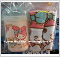 ㊣2017開學用品 Sanrio My Melody 卡通 兒童毛巾盒 手巾仔 2條裝2744