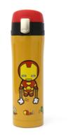㊣韓國直送Marvel IIron Man 鋼鐵奇俠造形不鏽鋼真空水400ML210917