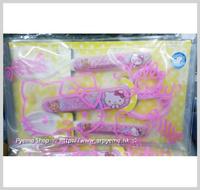 廚房用品/用具-㊣Sanrio Hello Kitty 兒童餐具袋套裝 塑膠叉匙羮安全食物剪刀_2188
